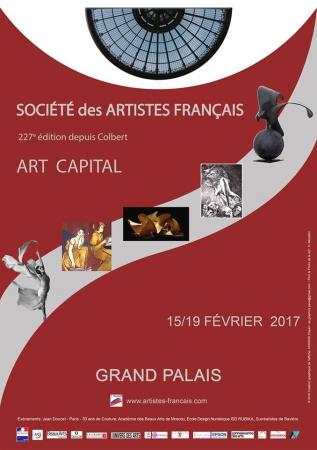 Paris Grand Palais Champs Elysées - février 2017