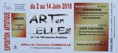 Abbeville  - du 2 au 14 juin 2018