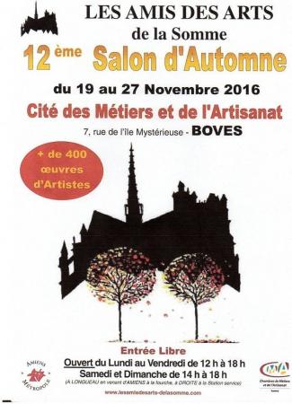 Amiens 80 - du 19 au 27 novembre 2016