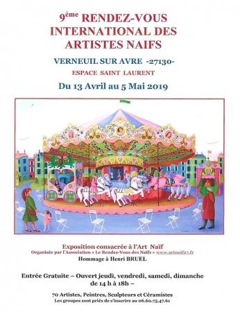 Verneuil sur Avre - avril et mai 209