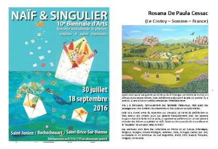 Saint-Junien 87- juillet-août 2016