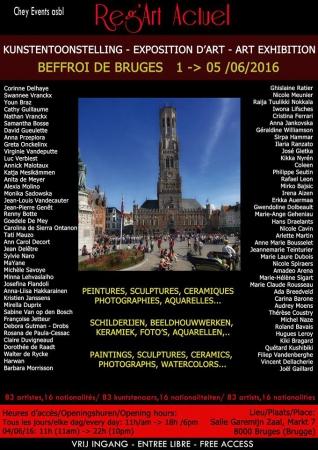 Beffroi de Bruges - juin 2016