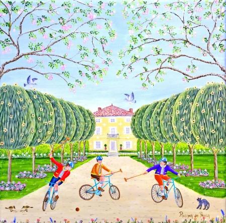 Le vélo polo