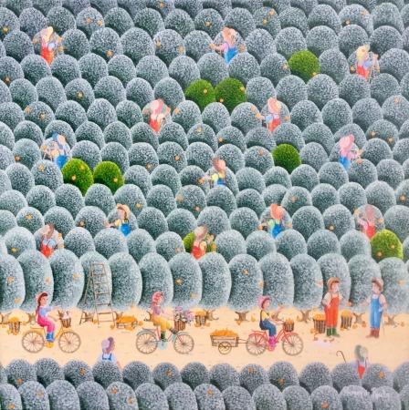 La ballade dans les orangers bleus