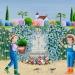 Les enfants à la fontaine