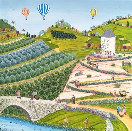 Le chemin du moulin
