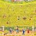 Les ruches du champ de tournesol