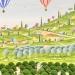 Les 2 montgolfières au-dessus de la vallée